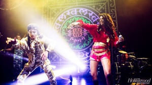 M.I.A at The Belasco.  Kyleen James/The Hollywood Reporter