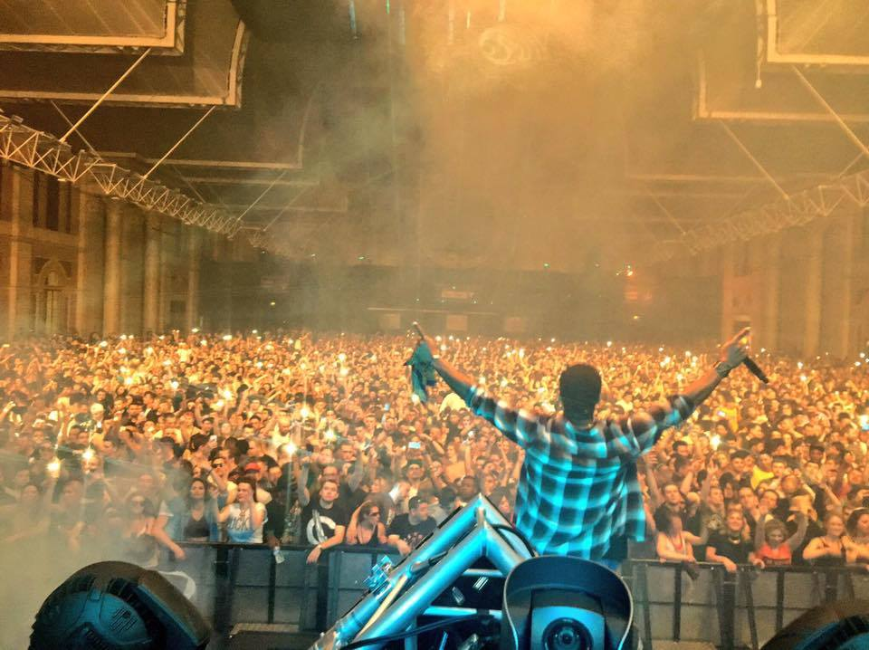live review andy c at alexandra palace london � the